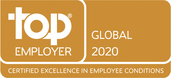 Saint-Gobain certifierad Top Employer Global 2020